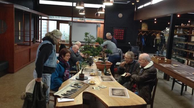 Bonsai Café NL 7 februari 2015