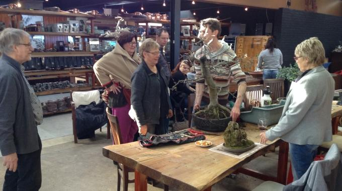 Bonsai Café NL 7 maart 2015