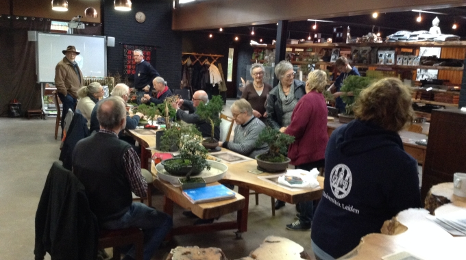 Sinterklaasmiddag bij Bonsai Café NL