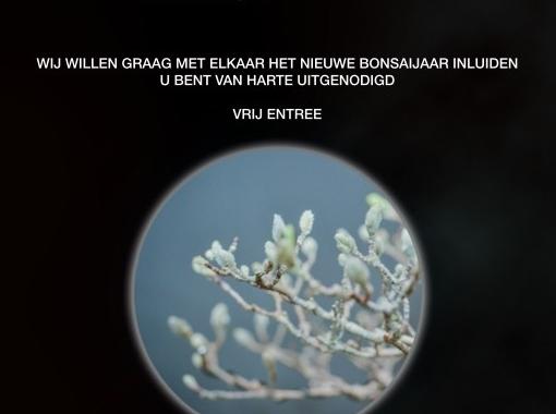 Flyer Nieuwjaarsreceptie/Winterbomenpresentatie 2017