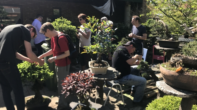 Bonsai Café NL 5 mei 2018