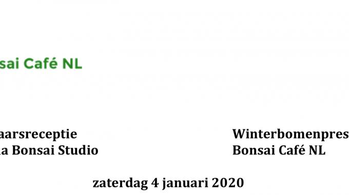 Programma Winterbomenpresentatie / Nieuwjaarsreceptie 2020